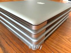Lot De 4 Apple Macbook Pro 15 2010 2009 A1286 I5 2.66 2.53ghz 8gb Ram Lire