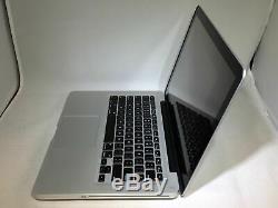 Macbook Pro 13 2012 2,5 Ghz Intel Core I5 4go 500go Hdd Bon État