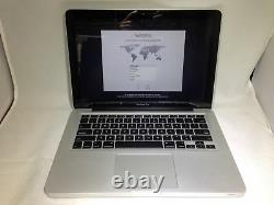 Macbook Pro 13 Fin 2011 2,4 Ghz Intel Core I5 4go 500go Hdd Bon État