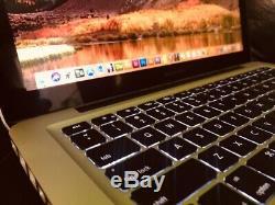 Macbook Pro. 13 I5 Macos 16 Go 500go Hd High Sierra 2017 Upgraded Complet De App De