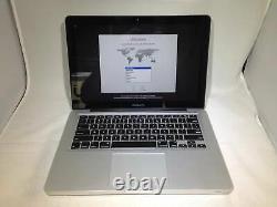 Macbook Pro 13 MID 2012 2,5 Ghz Intel Core I5 4go 500go Hdd Salon Etat
