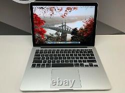 Macbook Pro 13 Retina Core I7 1 To Ssd 16 Go Ram Garantie Os-2019