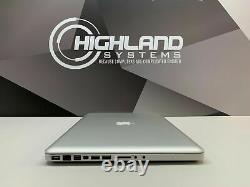 Macbook Pro 15 Ordinateur Portable Intel Core 2.5ghz 500 Go Warranty Mac