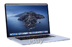 Macbook Pro 15 Pouces Ordinateur Portable / Quad Core I7 / 1 To Ssd! / Retina / Osx2019
