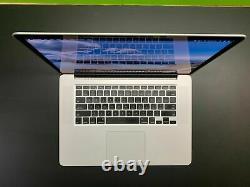 Macbook Pro 15 Pouces Ordinateur Portable / Quad Core I7 / 500 Go Ssd / Retina / 3 Yr Warranty