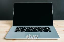 Macbook Pro 15 Pouces Ordinateur Portable / Quad I7 / 16 Go 1 To Ssd / Retina / Os 2020 Big Sur