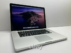 Macbook Pro 15 Pouces Pré-retina Apple Laptop 2.2ghz 500go Os2017