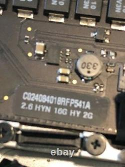 Macbook Pro 15 Retina Late 13 Début 2014 I7 2.6 Mghz 16go Cracked LCD Read