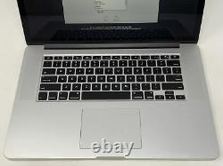 Macbook Pro 15 Retina MID 2015 2.2ghz I7 16gb 256gb Ssd Très Bon État