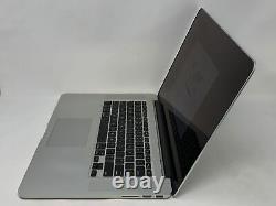 Macbook Pro 15 Retina MID 2015 2.2ghz Intel Core I7 16 Go 256 Go En Bon État