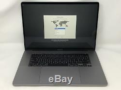 Macbook Pro 16 Pouces Espace Gris 2019 2.6ghz Core I7 16 Go Ssd 512 Go Excellent État