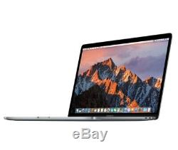 Macbook Pro 2017 Silber Core I7 Barre Tactile 15,4, Ssd 512 Go, 16 Go, Radeon 555, Ovp