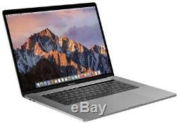Macbook Pro 2017 Spacegrau Core I7 Barre Tactile 15,4, 2tb Ssd, 16 Go Ram, Radeon 560