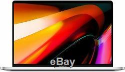 Macbook Pro 2019 Barre Tactile 16 I9-9880h 16 1 To Ssd 5500m Fpr Argent Mvvm2ll / A