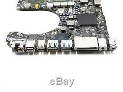 Macbook Pro A1286 2011 2.2ghz Logic Board 820-2915-b Avec La Dernière Ver 2016 Chip