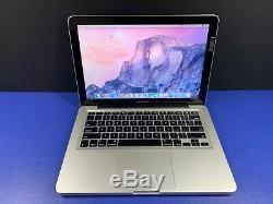 Macbook Pro Retina 13 Pré-turbo Intel I5 / 16 Go Ram 1to Garantie Osx-2017