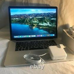 Macbook Pro, Retina 15.4 2.5/3.7ghz I7 16go Bundle New Charger + 256 Ssd 2015