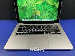 Maximisé Apple Macbook Pro 13 Lmt 3.4ghz Ram 16 Go Turbo Core I7 Et 1 To Osx-2017