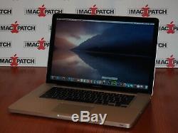 Maximisé! Apple Macbook Pro 15 Core I7 Pré-retina + 16 Go De Ram + 2 To Solid State Hybrid