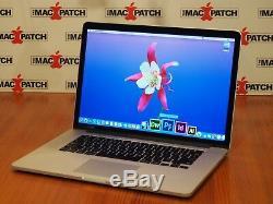 Maximisé! Apple Macbook Pro 15 Retina Core I7 Quad Core + 16 Go De Ram + 500 Go Ssd