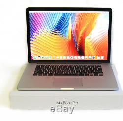 Nouveau 2015 Macbook Pro 15 Retina 15,4 I7 2.2ghz / 16 Go Ram / 1tb Ssd Mjlq2ll / A