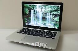 Rapide Apple Macbook Pro 13 Mac Portable / I5 À 2,5 Ghz 500 Go Hd / Garantie + Dernier Système D'exploitation
