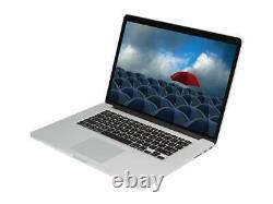 Rénové Apple Macbook Pro 15-inch Core I7 2.6ghz Avec 8gb Ram Et 512gb