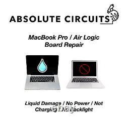 Réparation Macbook Pro Board Logic