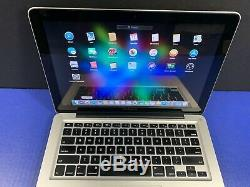 Upgraded Apple Macbook Pro 13 / 2,4 Ghz Intel / 8 Go Ram / 1to / 3 Garantie Yr